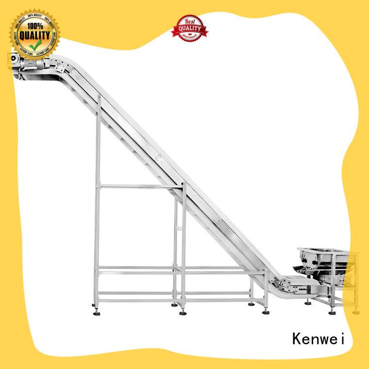 Kenwei incliné convoyeur matériel à la vente pour la nourriture