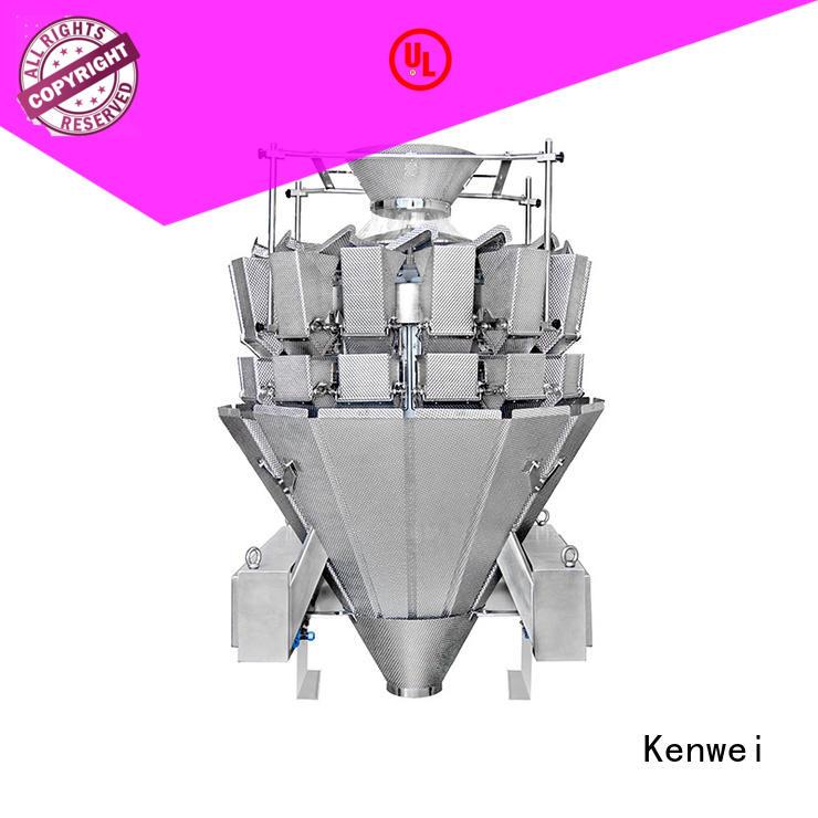 Kenwei práctica máquina embotelladora con sensores de alta calidad para materiales con aceite