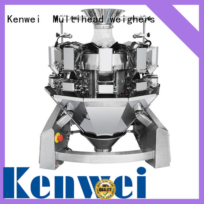 Báscula de peso de alimentos de estabilidad Kenwei fácil de desmontar para materiales con aceite