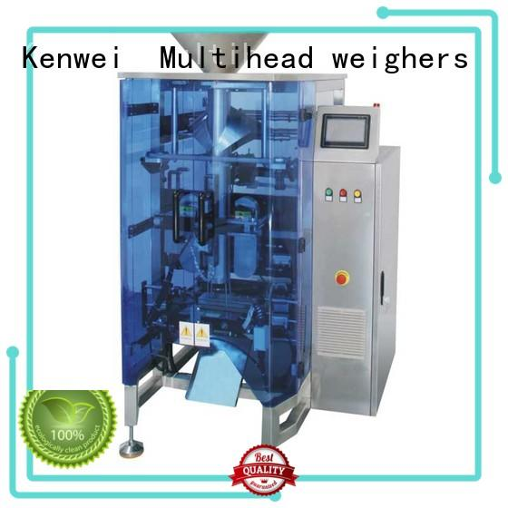 Kenwei double vertical packaging machinery with high quality for gusset bag
