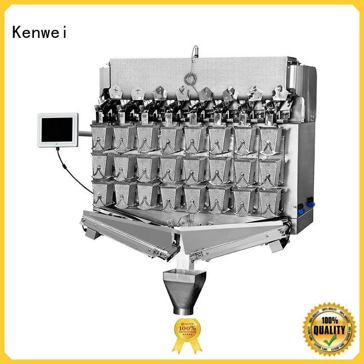 Máquina de pesaje de polvo Kenwei con sensores de alta calidad para salsa de pato