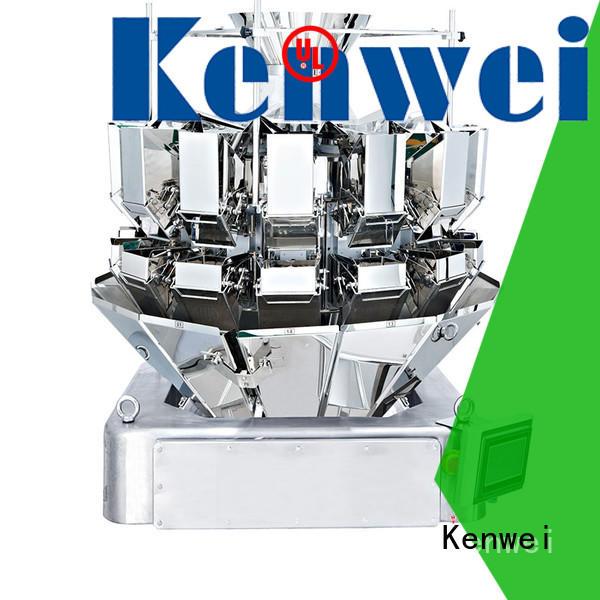 Congelés emballage peseur machine facile à démonter pour matériaux de haute viscosité