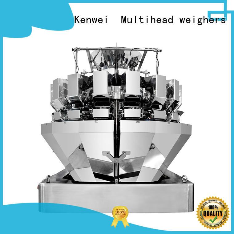 Máquina de embalaje de acero Kenwei precio con sensores de alta calidad para pato salsa