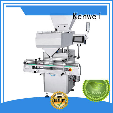 machine pill counter machine with stepless adjustment for chemicals Kenwei