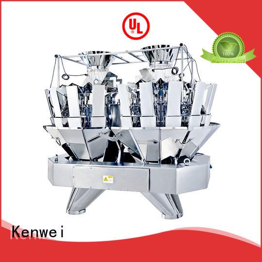 Máquina de llenado de polvo Kenwei multimouth fácil de desmontar para salsa de pato