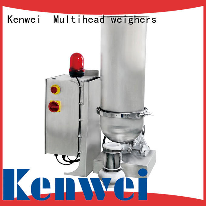 Kenwei marca doble alimentador de pérdida de peso totalmente automático de fábrica