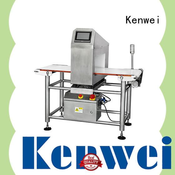 Sistema de Detección de aluminio Kenwei fácil mantenimiento para alimentos