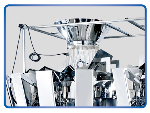 Kenwei -Professional 2g Standard 20 Heads O Type Multihead Weigher 16l 25l Supplier-2