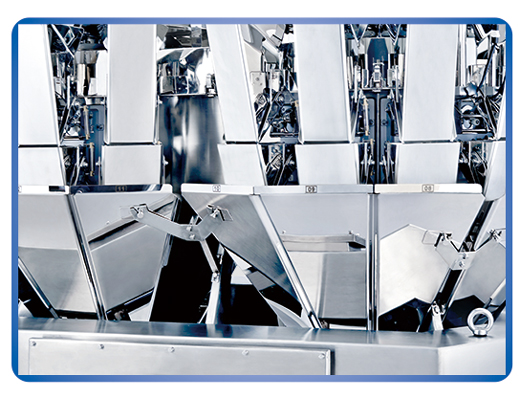 Kenwei -Professional 2g Standard 20 Heads O Type Multihead Weigher 16l 25l Supplier-3