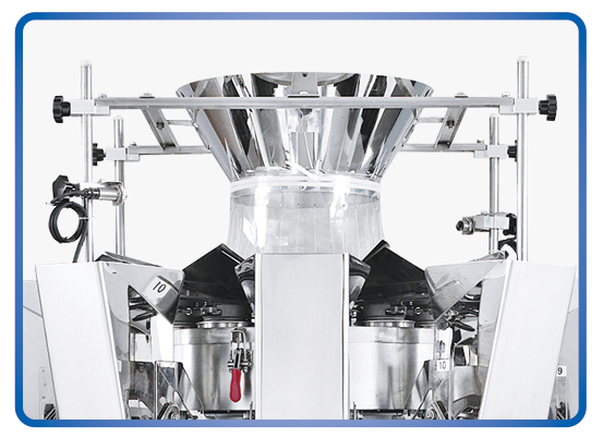 Kenwei -Find Manufacture About Heads Standard No-spring Multihead Weigher-2