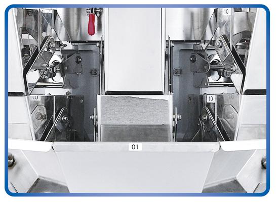 Sistemas de embalaje de pesaje Kenwei fáciles de desmontar para materiales con alta viscosidad-4