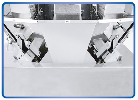 Kenwei -2g 10 Heads Standard No-spring Multihead Weigher 16l | Weighing Instruments-3