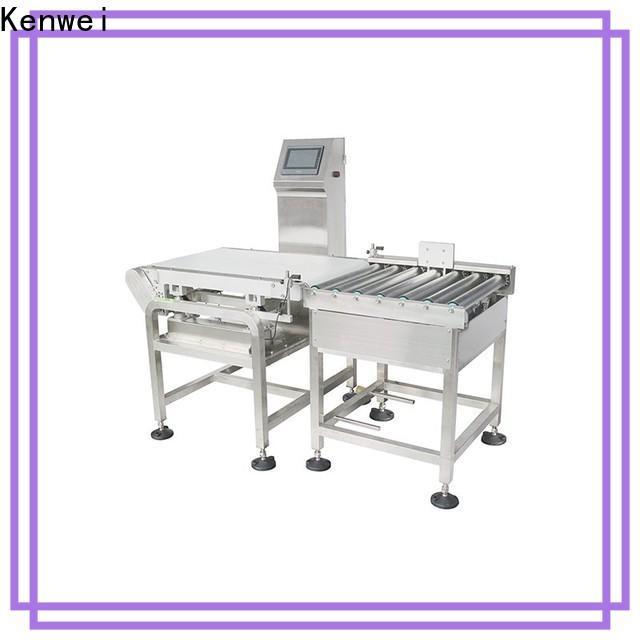 Kenwei qualité assurée machine d'emballage d'emballage unique service