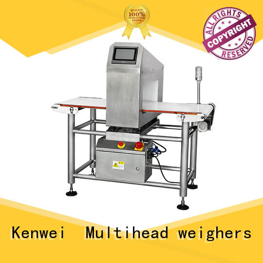 Kenwei metal detection system easy maintenance for toy rubber industry