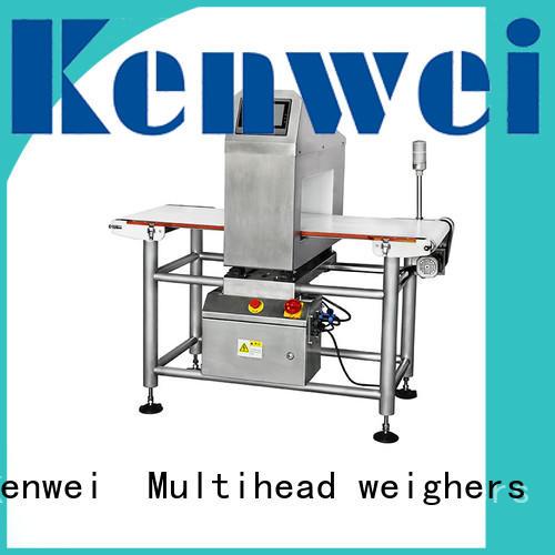 جودة ورقة العلامة التجارية Kenwei التغليف الأفقي detektor المعادن
