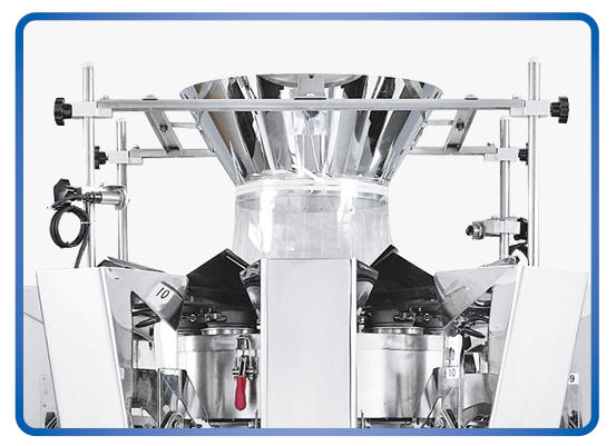 Kenwei -2g 10 Heads Standard No-spring Multihead Weigher 16l | Multihead Weighers-2