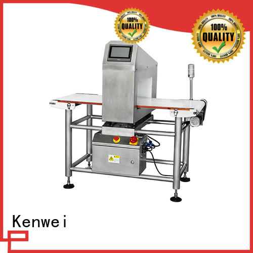 metal detector for bakery industry foil for textile Kenwei