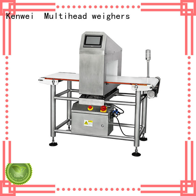 Kenwei Brand paper packaging foil meat metal detector chemical